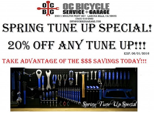 OCBG Spring Tune up SPECIAL LARGE