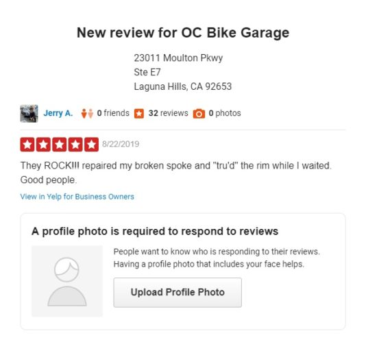 Orange County Bicycle Service + Garage